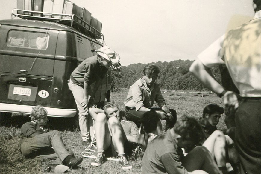 1963 Camp Jociste à Reims